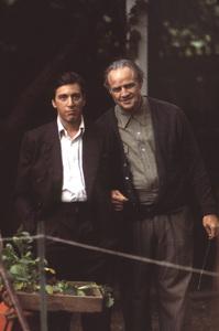 """The Godfather""Al Pacino, Marlon Brando1972 Paramount**I.V. - Image 5746_0082"