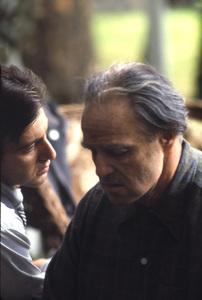 """The Godfather""Al Pacino, Marlon Brando1972 Paramount**I.V. - Image 5746_0083"