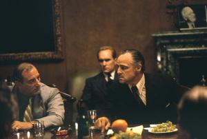 """The Godfather""Marlon Brando, Robert Duvall1972 Paramount**I.V. - Image 5746_0088"