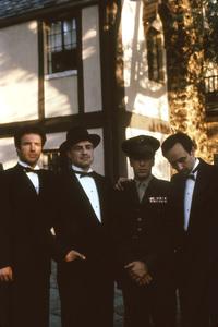 """""""The Godfather""""James Caan, Marlon Brando, Al Pacino, John Cazale1972 Paramount**I.V. - Image 5746_0089"""