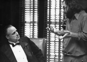 """The Godfather""Marlon Brando, Francis Ford Coppola Paramount, 1972** I.V. - Image 5746_0094"