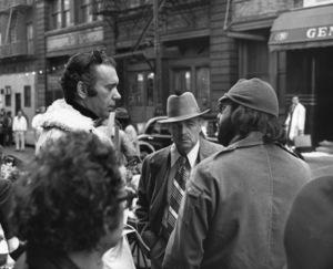 """The Godfather""Albert Ruddy (Producer), Marlon Brando, Francis Ford Coppola (director)Paramount, 1972** I.V. - Image 5746_0095"