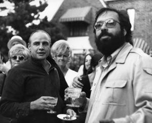 """The Godfather""Marlon Brando, Francis Ford CoppolaParamount, 1972** I.V. - Image 5746_0096"
