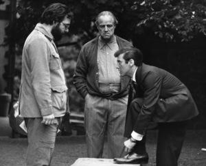 """The Godfather""Francis Ford Coppola, Marlon Brando, Al PacinoParamount, 1972** I.V. - Image 5746_0097"