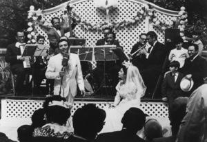 """The Godfather""Al Martino, Talia Shire1972 Paramount Pictures - Image 5746_0101"