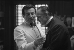 """The Godfather""Al Martino, Marlon Brando1972** I.V.C. - Image 5746_0105"