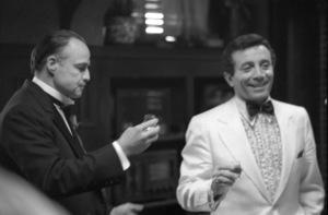 """The Godfather""Al Martino, Marlon Brando1972** I.V.C. - Image 5746_0106"