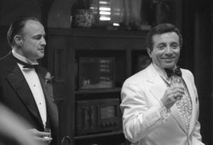"""The Godfather""Al Martino, Marlon Brando1972** I.V.C. - Image 5746_0107"