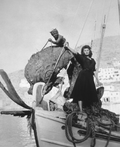 """Sophia Loren in """"Boy On A Dolphin,"""" 1957. - Image 5751_0002"""