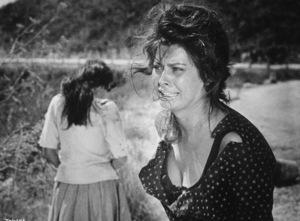 """Sophia Loren in """"Two Woment,"""" 1960. - Image 5752_0005"""