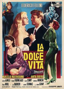 """""""La Dolce Vita"""" (Poster)1960** I.V. - Image 5754_0010"""