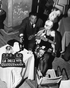 """La Dolce Vita""Director Federico Fellini, Magali Noel1960** I.V. - Image 5754_0011"