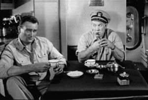 """""""Operation Pacific,"""" Warner Bros. 1950. John Wayne and Ward Bond. - Image 5760_0023"""