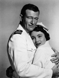 """Operation Pacific,"" Warner Bros. 1950.John Wayne and Patricia Neal. - Image 5760_0033"