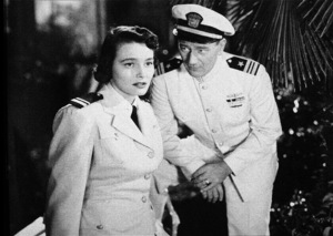 """Operation Pacific,"" Warner Bros. 1950.Patricia Neal and John Wayne. - Image 5760_0035"