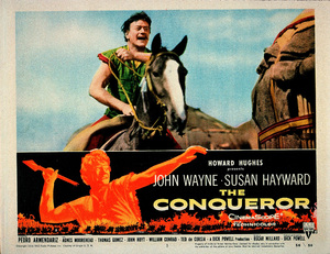 """The Conqueror,"" Howard Hughes/RKO 1955.Lobby card - Image 5761_0075"