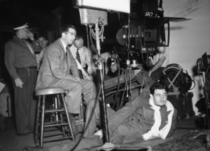 "Director Preston Sturges during the making of ""The Lady Eve""1941 Paramount Pictures - Image 5763_0006"