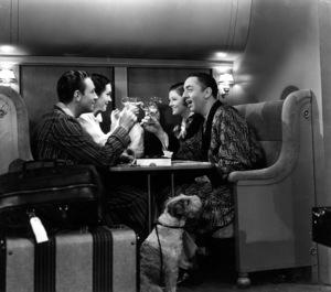 """The Thin Man""Myrna Loy, William Powell, Asta the Dog1934 - Image 5771_0006"