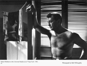 """Cape Fear"" Robert Mitchum1961 Universal © 1978 Bob Willoughby - Image 5772_0005"