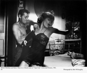 """""""Cape Fear"""" Robert Mitchum, Barry Chase1961 Universal © 1978 Bob Willoughby - Image 5772_0008"""