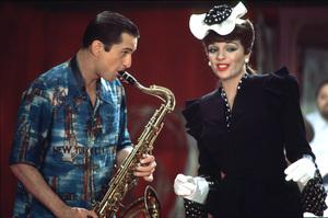"""New York, New York""Robert De Niro and Liza Minnelli. © 1977 UA/Chartoff-WinklerPhoto by Bruce McBroom - Image 5810_0028"