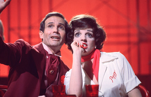 """New York, New York""Joel Grey and Liza Minnelli © 1977 UA/Chartoff-WinklerPhoto by Bruce McBroom - Image 5810_0033"