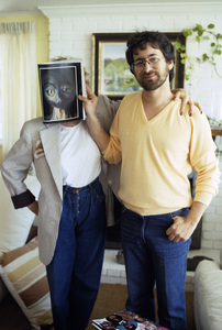 Steven Spielberg and friend1982© 1982 Bruce McBroom - Image 5817_0082
