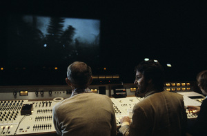 "Steven Spielberg mixing ""Poltergeist"" 1982© 1982 Bruce McBroom - Image 5817_0084"