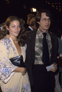 Steven Spielberg and Amy Irvingcirca 1984© 1984 Gary Lewis - Image 5817_0087