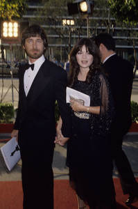 """Steven Spielberg and Valerie Bertinelli at """"The 52nd Annual Academy Awards""""1980© 1980 Gary Lewis - Image 5817_0090"""