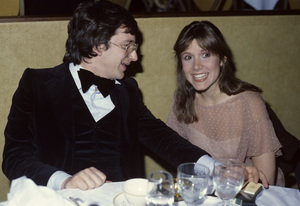 Steven Spielberg and Carrie Fisher1978© 1978 Gary Lewis - Image 5817_0095