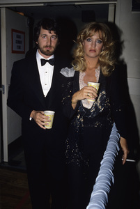 Steven Spielberg and Goldie Hawn at the Oscarscirca 1980s© 1980 Gary Lewis - Image 5817_0096