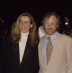 Steven Spielberg and Emma Thompsoncirca 1990s© 1990 Gary Lewis - Image 5817_0100