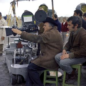 """Satyricon""Federico Fellini on set1969** I.V.C. - Image 5833_0097"