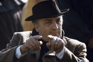 """Satyricon""Director Federico Fellini on set1969** I.V.C. - Image 5833_0100"