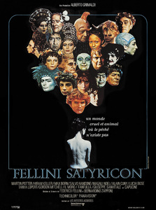 """Satyricon"" (French promotional poster)1969** I.V.C. - Image 5833_0102"