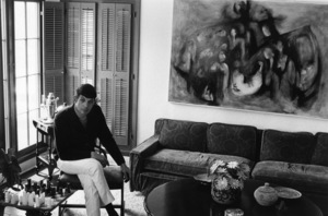 Leonard Nimoy at home in Westwood, California 1966 © 1978 Gunther - Image 5846_0004
