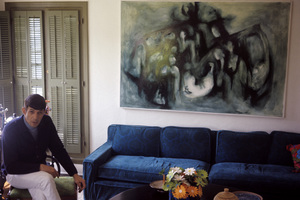 Leonard Nimoy at home1966© 1978 Gunther - Image 5846_0009
