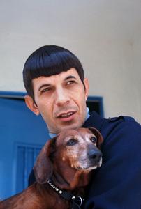 Leonard Nimoyat home in Westwood California1966 © 1978 Gunther - Image 5846_0024