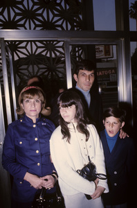 Leonard Nimoy with his wife Sandi Zober and his children Adam and Juliecirca 1960s© 1978 Gunther - Image 5846_0032