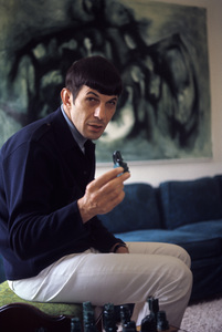 Leonard Nimoy at home in Westwood, California 1966 © 1978 Gunther - Image 5846_0034