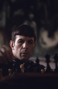 Leonard Nimoy at home in Westwood, California 1966 © 1978 Gunther - Image 5846_0035