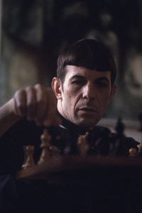Leonard Nimoy at home in Westwood, California 1966 © 1978 Gunther - Image 5846_0036