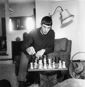 Leonard Nimoy at home in Westwood, California 1967Photo by Joe Shere - Image 5846_0038