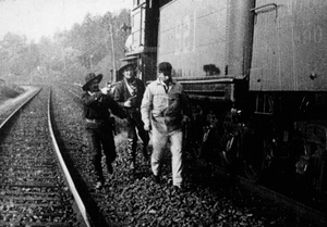 """""""The Great Train Robbery""""1903 Edison Manufacturing Company - Image 5859_0001"""