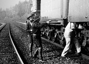 """""""The Great Train Robbery""""1903 Edison Manufacturing Company - Image 5859_0002"""