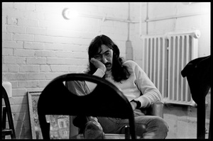 Jimmy Carl Black of The Mothers of Invention prior to a performance in Fall River, Massachusetts 18 February 1968© 2020 Ed Lefkowicz - Image 5872_0064