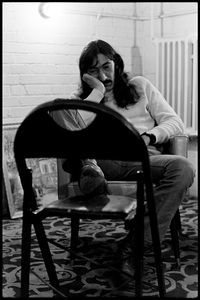 Jimmy Carl Black of The Mothers of Invention prior to a performance in Fall River, Massachusetts 18 February 1968© 2020 Ed Lefkowicz - Image 5872_0065