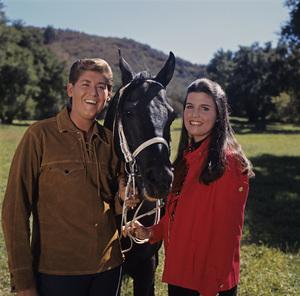 Wayne Newton and Lucie Arnazcirca 1960s** H.L. - Image 5873_0025