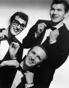 Buddy Holly and the Crickets (Jerry Allison & Joe B. Mauldin)circa 1950s** I.V.M. - Image 5875_0005